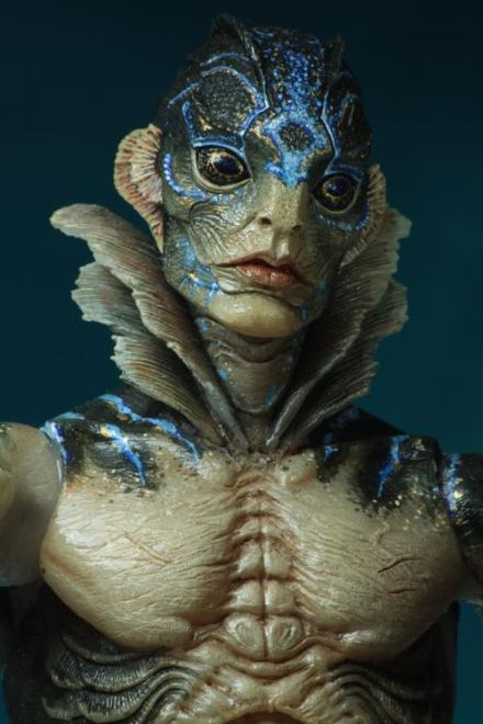 NECA Guillermo del Toro Signature Collection Action Figure Amphibian Man(Shape of Water)
